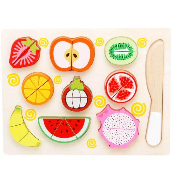 Set Fructe și Legume Puzzle