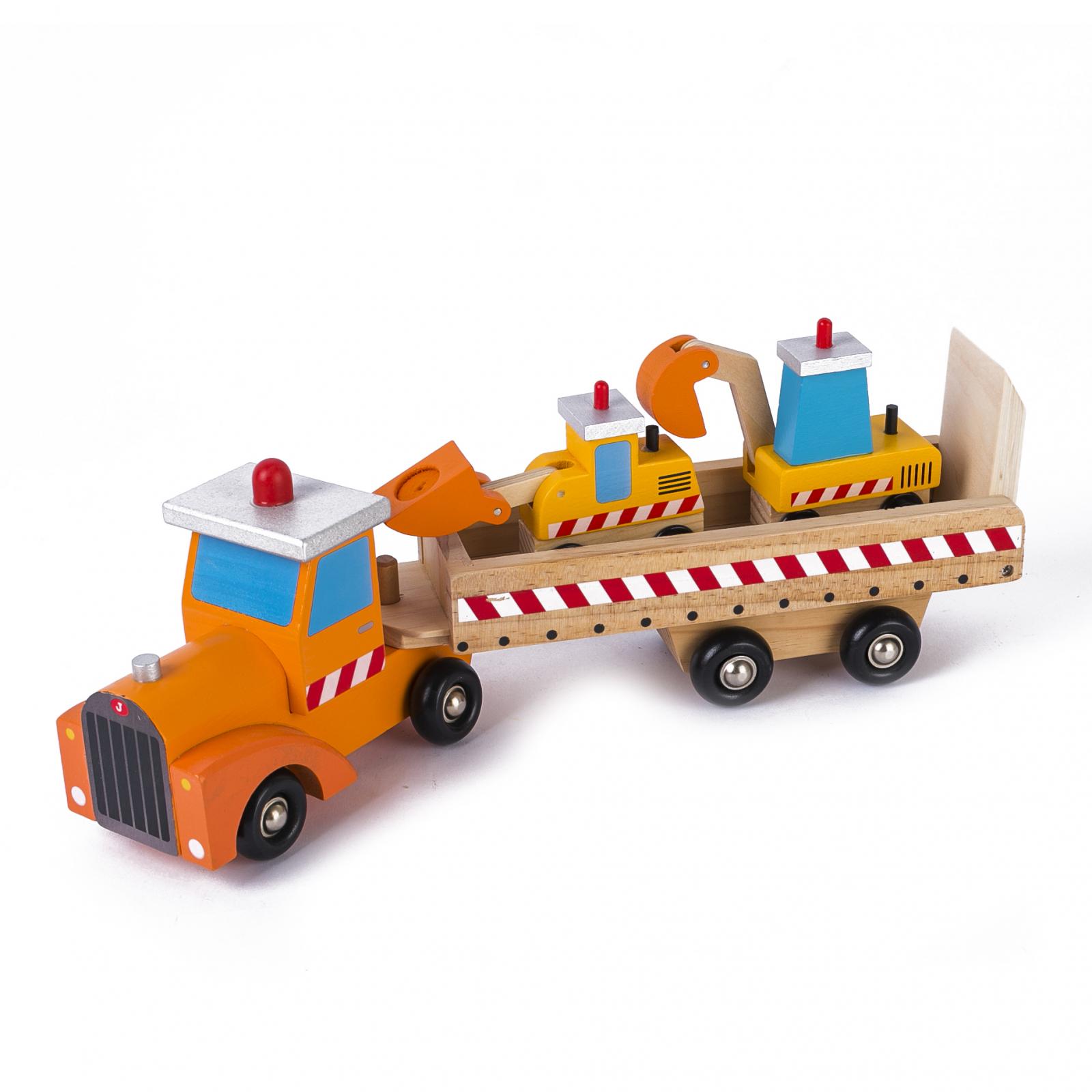 Camion cu Platformă și Utilaje