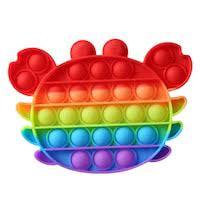 Jucarie Antistres Rac multicolor