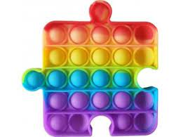Jucarie  Antistres Puzzle multicolor
