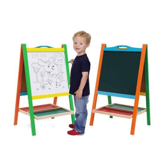 Tablă Educativă cu Picioare Colora